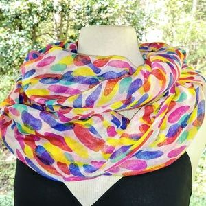 Accessories - COLORFUL Infinity Scarf #hundredsofscarves